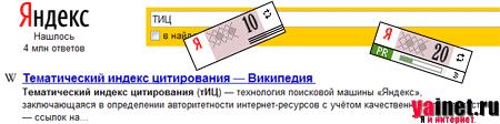 Тематический индекс цитирования (тИЦ)